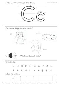 Worksheets Free Printable Letter Recognition Worksheets free printable alphabet worksheets with hard consonants and short abc letter recognition tracing practice introduction activities to print
