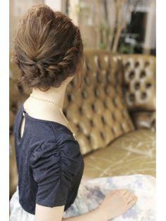 ボブ×編み込みアレンジ - 24時間いつでもWEB予約OK!ヘアスタイル10万点以上掲載!お気に入りの髪型、人気のヘアスタイルを探すならKirei Style[キレイスタイル]で。