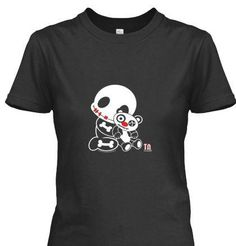 Our newest TEE - available 10 days only. Different Styles and Sizes too http://www.teespring.com/Bones4TEE  #tinynightmares