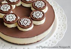 Baileys-juustokakku / Baileys Cheesecake Baileys Cheesecake, Cheesecake Recipes, Finnish Recipes, Sweet Pastries, Dessert Decoration, Piece Of Cakes, Something Sweet, Cheesecakes, Food To Make