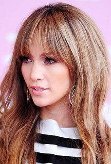 Jennifer Lopez love her hair Fringe Hairstyles, Hairstyles With Bangs, Summer Hairstyles, Cool Hairstyles, Jennifer Lopez, Jennifer Aniston Hair, Jen Lopez, Brown Hair Shades, Long Hair With Bangs