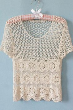 Obsessed with crochet tops right now