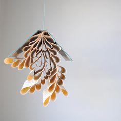 book mobile hanging sculpture