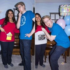 A Couple Announced Their Pregnancy In The Most Adorkably Canadian Way