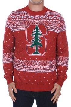 Men's Stanford University Sweater |  $65.95 | http://www.tipsyelves.com/stanford-university-sweater