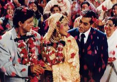 "Scene from Bollywood film, ""Kuch Kuch Hota Hai""(1998)"