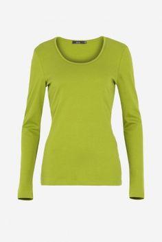 #Farbberatung #Stilberatung #Farbenreich mit www.farben-reich.com Lana X-Shirt Anna 1/1 peridot