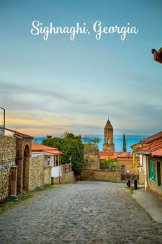 Wine Country with a historic view- Sighnaghi Georgia