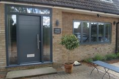 grey aluminium windows - Google Search