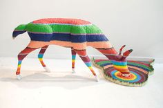 Color Me Impressed: The Crayon Sculptures of Herb Williams