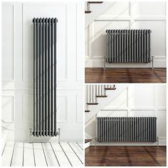 about Traditional Anthracite Horizontal Vertical Vintage Cast Iron Style Radiator Traditional Anthracite Horizontal Vertical Vintage Cast Iron Style Radiator in Home, Furniture & DIY, Heating, Cooling & Air, Radiators House Design, House, Radiators Modern, Home, Home Radiators, New Homes, Classic Furniture, Furniture Design, 1930s House