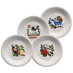 Twelve Days of Christmas Salad Plate Series 1 (464)