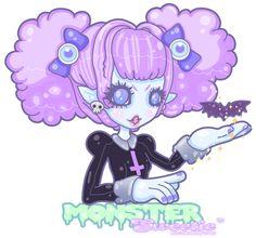 Monster Sweetie by MissJediflip.deviantart.com on @deviantART