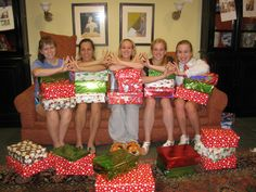 Operation Christmas: Delta Kappa Chapter gathered gifts, wrapped them and provided unique packages for local families.