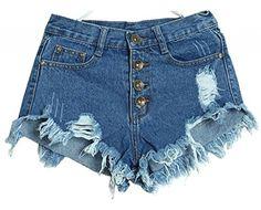 Women Vintage High Waist tassels Pants Jeans Denim Shorts ACEFAST INC http://www.amazon.com/dp/B00MNGNEP2/ref=cm_sw_r_pi_dp_QUIeub12Y2TZV