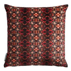 Search through our luxury designer cushions to compliment any room in your home. Red Throw Pillows, Scatter Cushions, Accent Pillows, Toss Pillows, Luxury Cushions, Luxury Sofa, Red Home Decor, Matthew Williamson, Scarlet