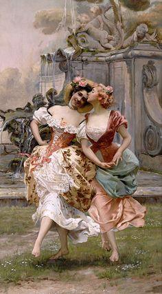 Pagliei, Gioacchino (b,1852)- La Danza