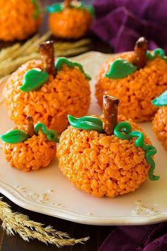 halloween treats rice krispies