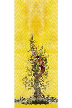 Timorous Beasties Wallcoverings  - Winchester wallpaper panels