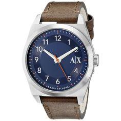 Armani Exchange Men's Brown Quartz Watch