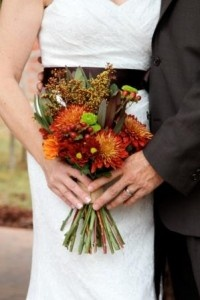 Fall bouquet for the Polke wedding