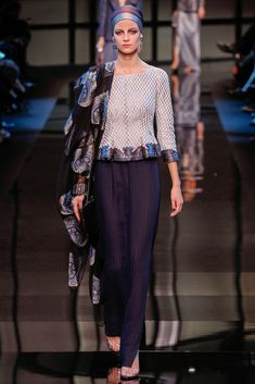 Armani Privé Paris Fashion Week 2014 Vogue