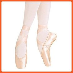1ed760c7cd8b Wendy Wu Girls Womens Dance Shoe Pink Ballet Pointe Shoes (8) - Athletic  shoes