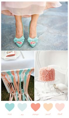 Party Palette: Mint + Blush - The Sweetest Occasion