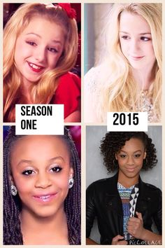 Then and now,they could have chosen a better photo for Chloe, she's beAutiful and the pic doesn't get her while face