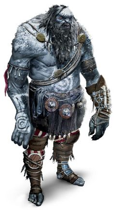Ogre (notice the shield he's using as knee protection).
