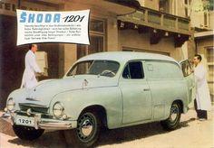"european vans | IMCDb.org: 1956 Škoda 1201 Furgon [Typ 980] in ""Prikhodite zavtra ... Advertising History, Car Advertising, Counting Cars, 70s Cars, The Good German, Grilling Gifts, Flying Car, Work Horses, Car Drawings"