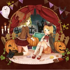 Rin & GUMI Halloween