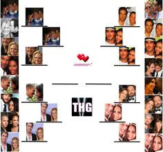 Tournament of THG Couples: Robert Pattinson & Kristen Stewart vs. Miley Cyrus & Liam Hemsworth!