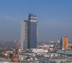 Manchester, England | The CIS Tower - Swan Street, Manchester, UK