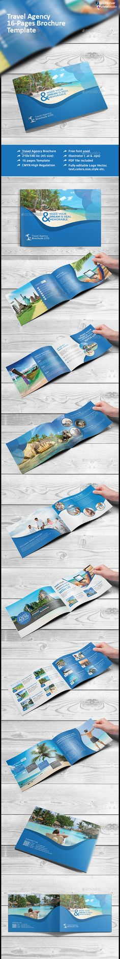 Travel Agency Brochure Catalog Indesign V  Brochures Catalog