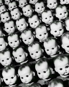 Doll factory, 1950's