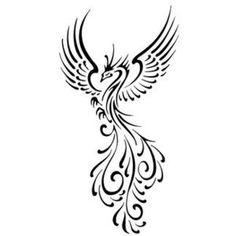 Small Phoenix Tattoos