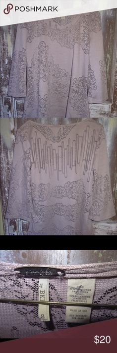 NWOT Gimmicks By BKE Buckle Top Lilac Lace S NWOT Gimmicks By BKE Buckle Top Blouse Shirt Light Purple Lilac Lace Peplum S Gimmicks BKE Buckle Tops Blouses