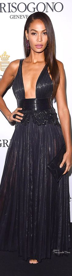 Joan Smalls in Givenchy Haute Couture by Riccardo Tisci Rex Features Cannes 2015