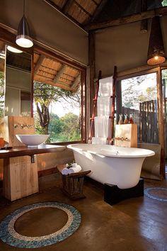 Rhino safari lodge Natal South Africa