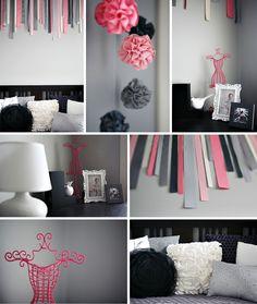 chambre enfant - gris rose - 2