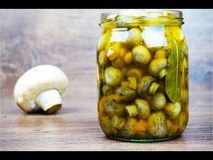 Setas en conservas Самые быстрые маринованные грибы шампиньоны Pickles, Cucumber, Garlic, Vegetables, Food, Arrows, Cauliflowers, Fungi, Meal
