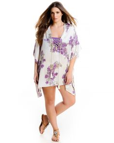 """mat. S/S 2015. RESORT COLLECTION by M """"The Silk Kaftans"""" : NAXOS"""