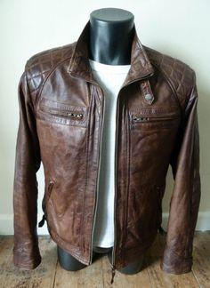 Aviatrix Saints Style Vintage Jacket Mens Aviatrix 2101 Brown Nevada Leather Jacket