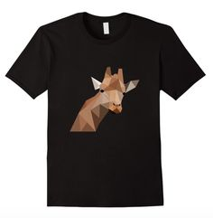Super fun abstract giraffe tee! Available for sale on Amazon!: https://www.amazon.com/dp/B01BCR45AA Available in Women's, Men's, & Youth Sizes!