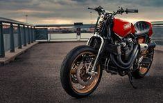 Rhapsody in Red | Inazuma café racer
