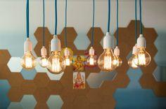 Lâmpada com filamento de carbono | Bangalô da Tati