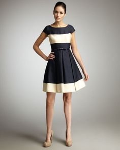 Kate Spade Addete Colorblock Dress  *mega sigh*