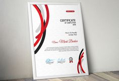 Certificate by Curve Design on Stationery Templates, Stationery Design, Invitation Design, Design Templates, Certificate Layout, Certificate Design Template, Printable Certificates, Curve Design, Paint Markers