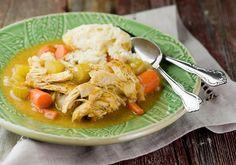 Slow Cooker Chicken and Dumplings X Recipe